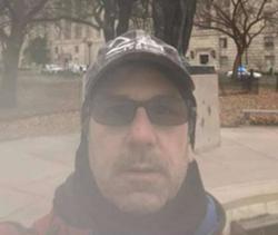 Anthony Michael Puma selfie in Washington D.C. on Jan. 6. - FBI