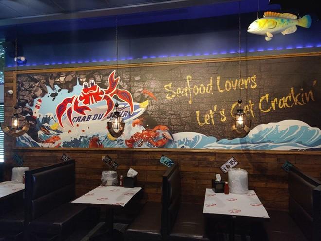 A Crab Du Jour restaurant. - COURTESY PHOTO