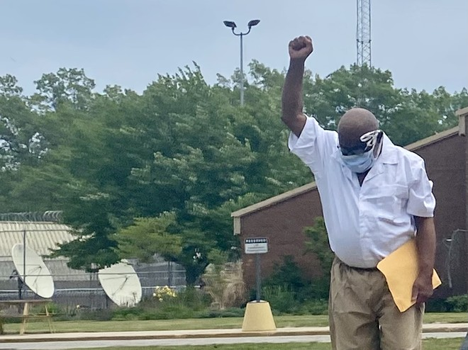 Ray Gray walks out of prison Tuesday a free man after 48 years behind bars. - DAVE MESREY