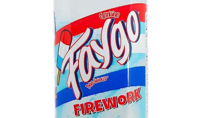 "Faygo's new ""Firework"" flavor. - COURTESY OF FAYGO"