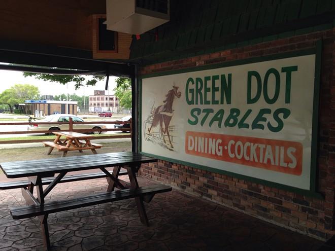 Green Dot Stables. - LIZA LAGMAN SPERL, FLICKR CREATIVE COMMONS