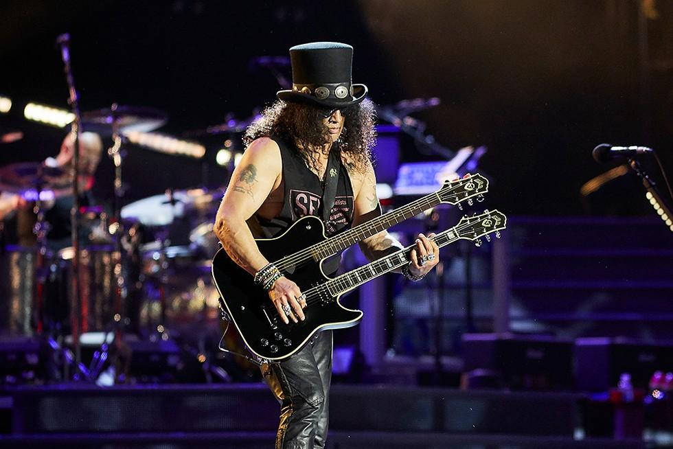 Guns 'N' Roses perform Sunday, Aug. 8 at Comerica Park. - PHOTOGRAPHY STOCK RUIZ/SHUTTERSTOCK.COM