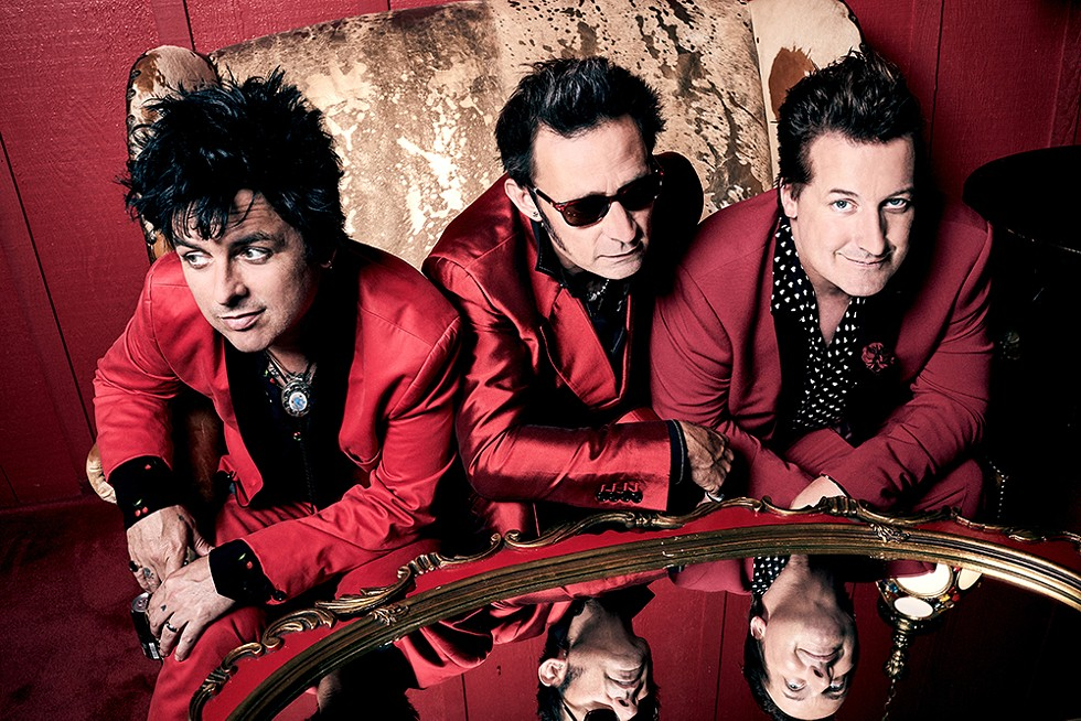 Green Day, Fall Out Boy, and Weezer perform Tuesday, Aug. 10 at Comerica Park. - PAMELA LITTKY