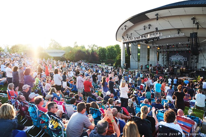 Frederik Meijer Gardens & Sculpture Park announced the return of the Fifth Third Bank Summer Concerts for 2021. - COURTESY PHOTO