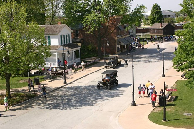 Greenfield Village will once again host a Fourth of July celebration. - COURTESY OF THE HENRY FORD/GREENFIELD VILLAGE