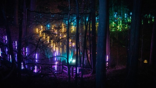Glenlore Trails premiered as a haunted autumn trail and will transform into an immersive summer experience starting July 15. - BLUEWATER TECHNOLOGIES