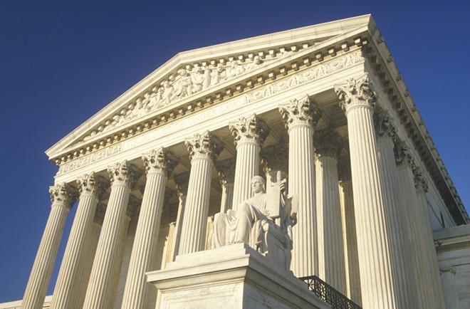 U.S. Supreme Court building. - SHUTTERSTOCK