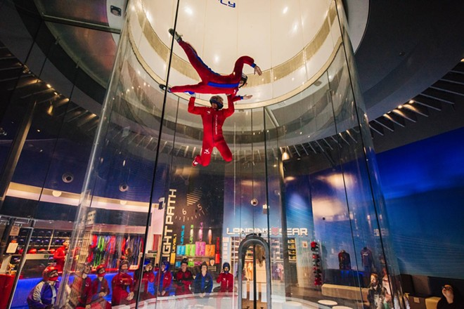 iFly World willopen it's first Michigan location on July 24 in Novi. - COURTESY OF IFLY WORLD