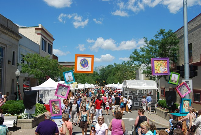 The 41st Annual Art in the Park returns to downtown Plymouth this weekend. - PHOTO COURTESY OF RAYCHEL RORK/ART IN THE PARK