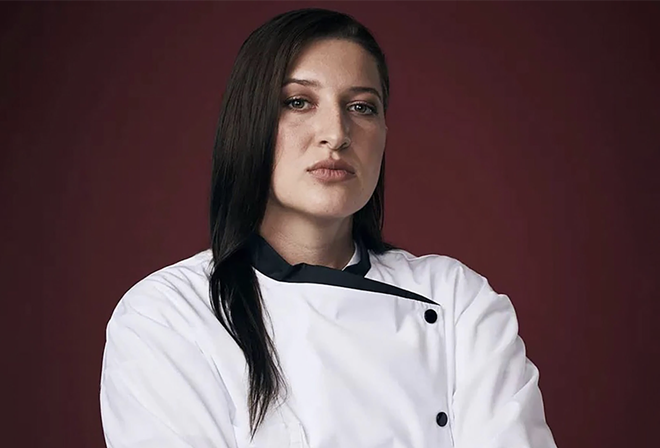 The first vegan contestant on 'Hell's Kitchen' will serve a vegan feast at frame in Hazel Park for a pop-up event. - COURTESY OF FRAME