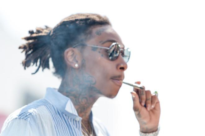 Rapper Wiz Khalifa. - JAMIE LAMOR THOMPSON / SHUTTERSTOCK.COM