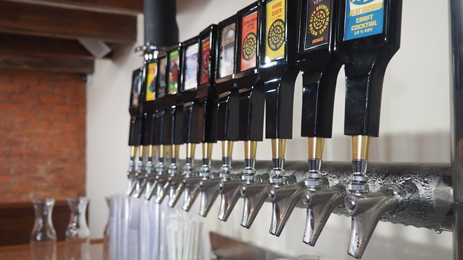 The new Motor City Brewing Works location will have an expanded menu. - SEAN TAORMINA