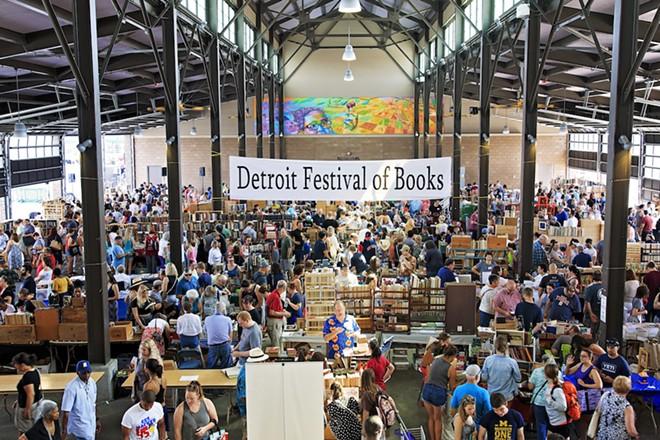 The Festival of Books returns to Eastern Market, Sunday, July 18. - COURTESY OF FESTIVAL OF BOOKS