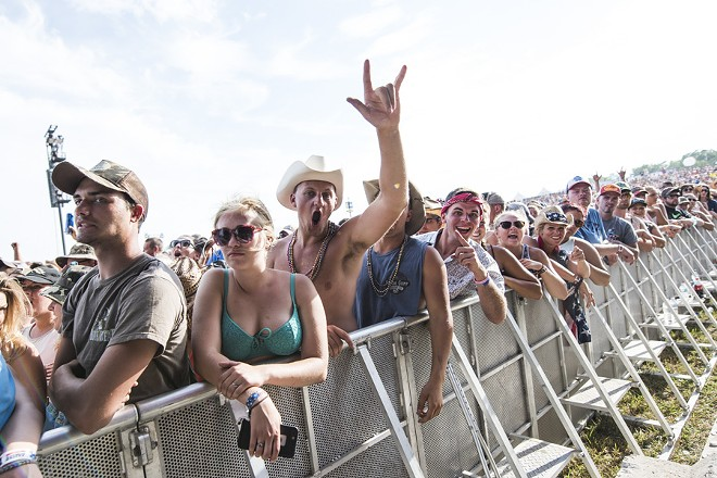 The Faster Horses country music festival in 2016. - MIKE FERDINANDE