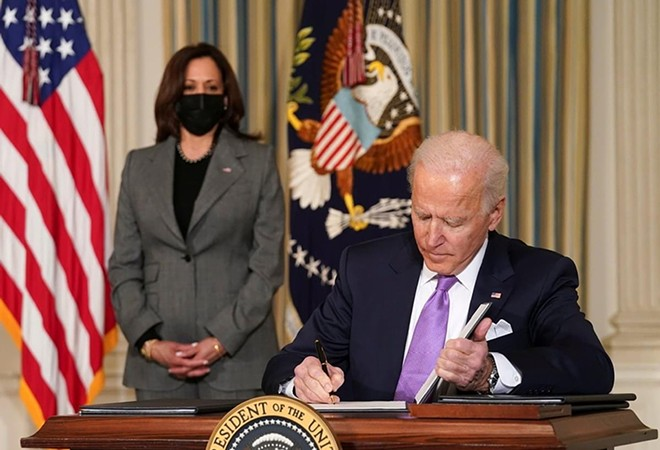After seven months and four packages, it appears the Biden administration finally has its winner. - ARCHNA NAUTIYAL / SHUTTERSTOCK.COM
