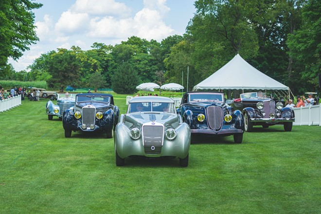Concours d'Elegance will move from the Inn at St. Johns to the DIA next year. - COURTESY OF CONCOURS D'ELEGANCE