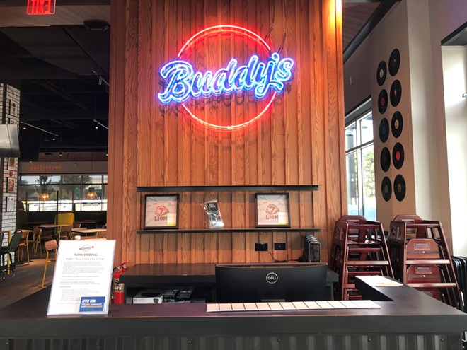 Buddy's new Clarkston and Okemos locations are expected to open in early 2022. - COURTESY OF BUDDY'S
