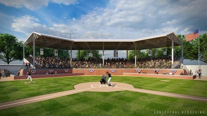 Rendering of a renovated Hamtramck Stadium. - KRESGE FOUNDATION