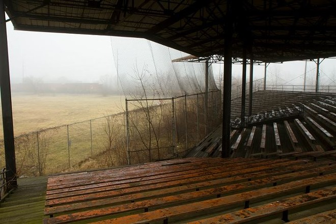 The grandstand at Hamtramck Stadium will get renovated, along with a new roof. - STEVE NEAVLING
