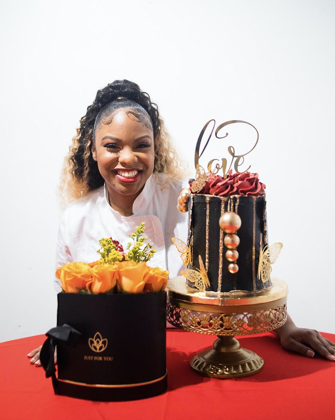 Chef Cynthia Love will debut cheescake egg rolls to celebrate National Cheesecake Day. - PHOTO BY CYRUS TETTEH
