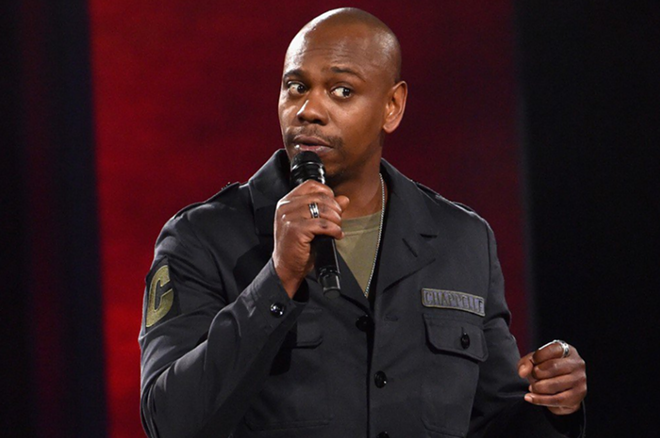 Comedian Dave Chappelle will be performing four live shows at the Fillmore Detroit this month. - NETFLIX