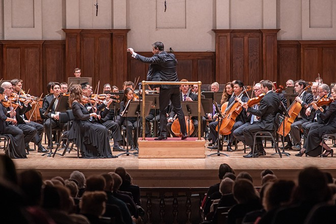 The Detroit Symphony Orchestra. - COURTESY OF THE DSO