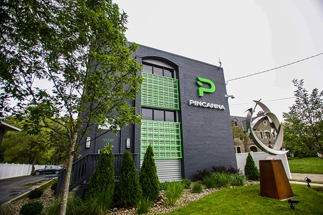 Pinacanna opened a new dispensary in East Lansing. - COURTESY PHOTO