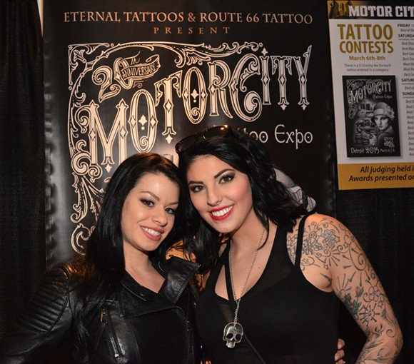 Motor City Tattoo Expo at Detroit Marriott at the Renaissance Center. - PHOTO BY MIKE PFEIFFER