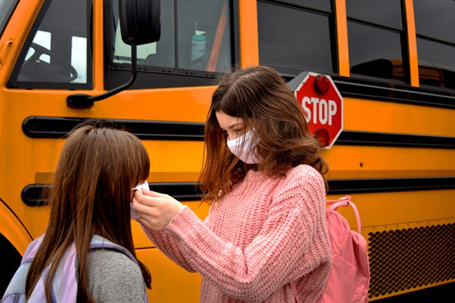 Macomb County parents are calling on local officials to enact a mask mandate for students as COVID-19 cases increase among children. - SHUTTERSTOCK