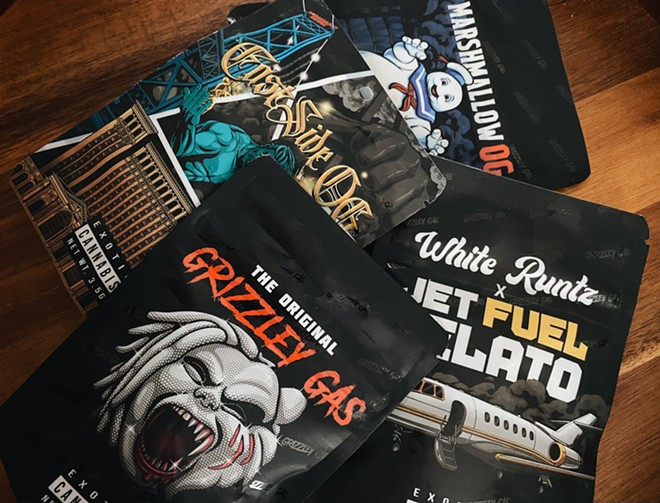 """Rapper Tee Grizzley has debuted a new line of """"Grizzley Gas"""" marijuana in partnership with Levels Cannabis. - ALEX WASHINGTON"""