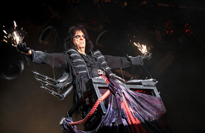 Alice Cooper will sign your copy of 'Detroit Stories', human blood sold separately. - YAKUB88 / SHUTTERSTOCK.COM
