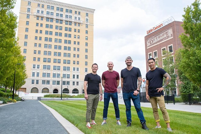 Four Man Ladder, the team that operates Grey Ghost and Second Best, have partnered with Olympia Development for third establishment. - COURTESY OF FOUR MAN LADDER