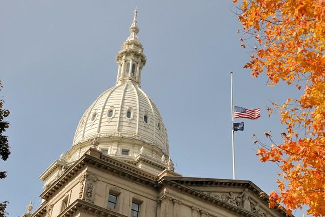 Michigan State Capitol - SHUTTERSTOCK