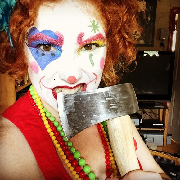 Clown and burlesque performer Mabel Syrup will be part of the proceedings. - PHOTO COURTESY IWDC