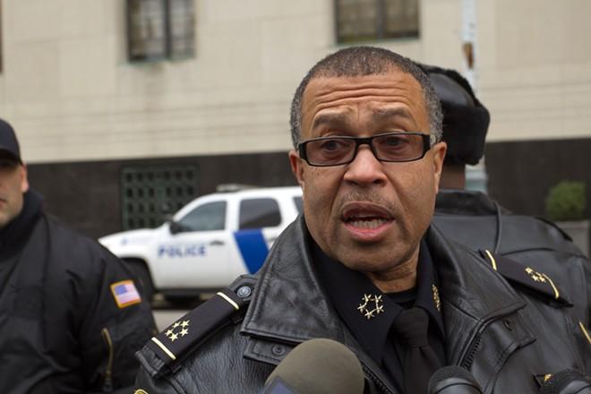 Retired Detroit Police Chief James Craig. - STEVE NEAVLING