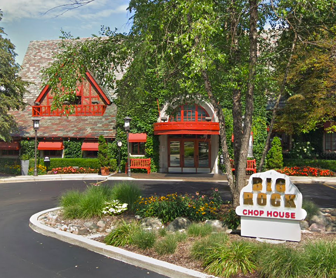 Big Rock Chophouse will be closing its doors at the end of this year. - SCREENSHOT VIA GOOGLE MAPS