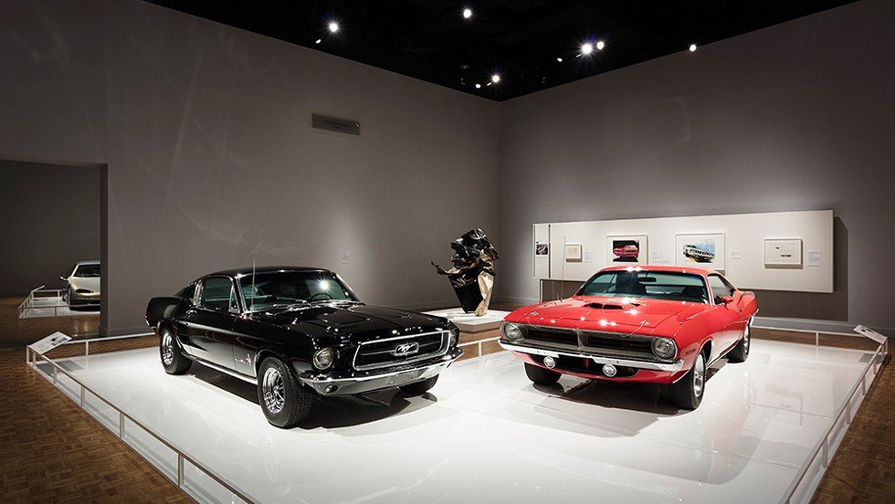 Autos and auto-related art on view at the DIA. - COURTESY OF THE DIA