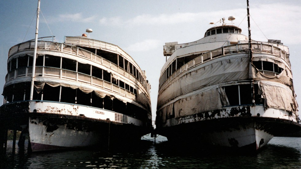 The Boblo Boats, sisters SS Columbia and Ste. Claire, are the subject of a new documentary film. - COURTESY PHOTO