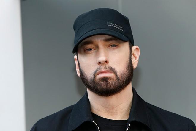 Eminem has been known to drop a surprise album. - KATHY HUTCHINS/SHUTTERSTOCK.COM