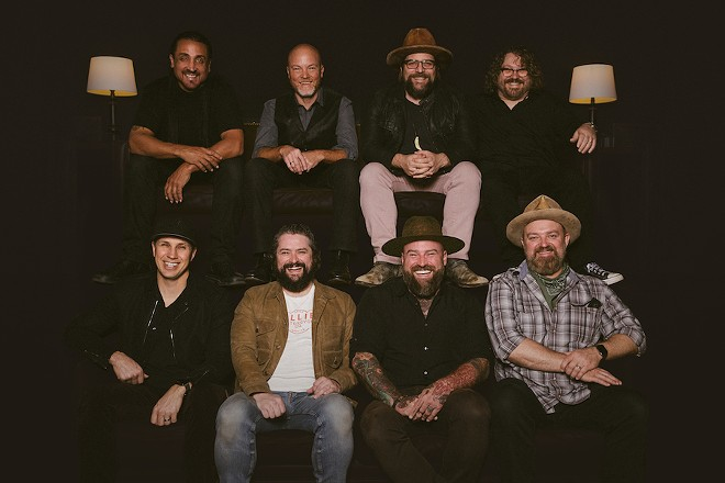 Zac Brown Band will have to come back to metro Detroit for their Comeback Tour. - PHOTO BY ALEX CHAPMAN