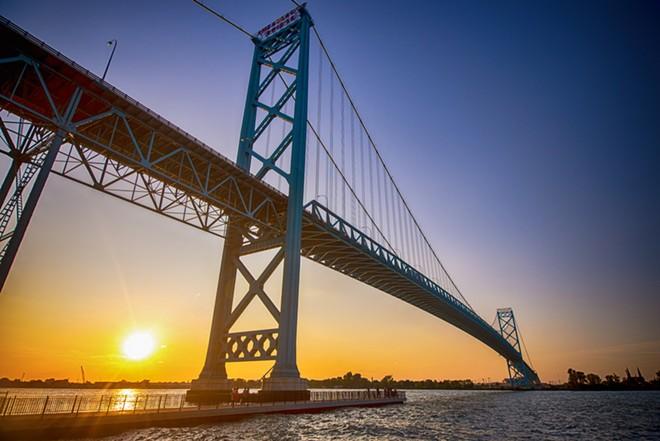 Ambassador Bridge. - ROXANNE GONZALEZ / SHUTTERSTOCK