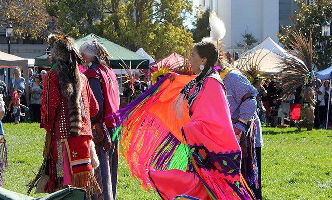 Monday, Oct. 11 is national Indigenous Peoples' Day - PHOTO VIA WIKIPEDIA COMMONS