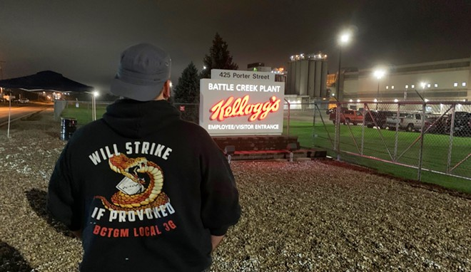 More than 1,400 Kellogg's workers are on strike. - BAKERY, CONFECTIONERY, TOBACCO WORKERS AND GRAIN MILLERS INTERNATIONAL UNION