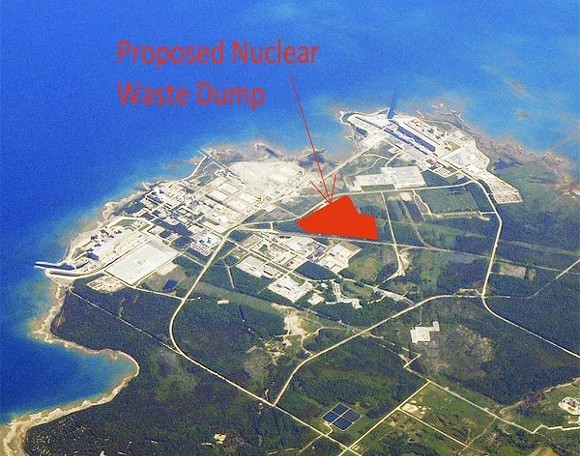 FACEBOK/NUCLEAR WASTE INFORMATION - LAKE HURON