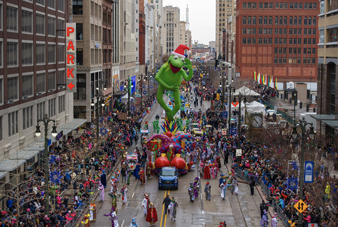 America's Thanksgiving Day Parade returns for an in-person celebration this year. - COURTESY OF LOVIO GEORGE COMMUNICATIONS + DESIGN
