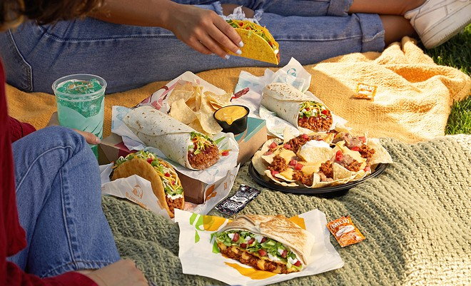 """Taco Bell is introducing a plant-based """"Cravetarian"""" menu in Detroit. - COURTESY OF TACO BELL"""