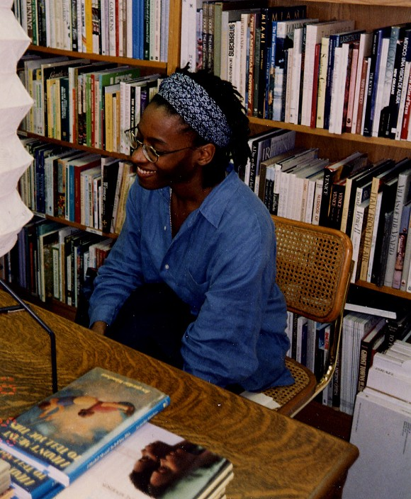 A SIGNING AT THE STORE WITH JACQUELINE WOODSON. COURTESY PHOTO.