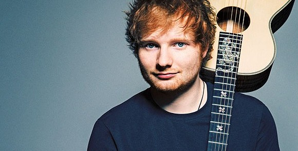ED SHEERAN. COURTESY PHOTO.