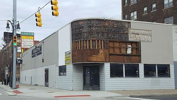 The former home of Showtime found itself somewhat disrobed by the strong winds. - PHOTO COURTESY RACHEL LUTZ