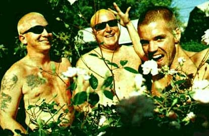LIFE WAS SO CAREFREE BACK THEN! PROMOTIONAL PHOTOGRAPH OF SUBLIME, TAKEN IN THE MID-1990S.